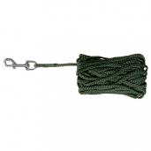 Sporline i grøn nylonreb 5-15 meter